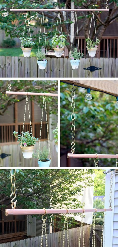 hanging wall garden 25 best ideas about hanging herb gardens on
