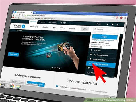 make sbi credit card payment how to cancel an sbi credit card 6 steps with pictures