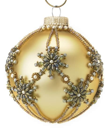 handmade beaded ornaments kaleidoscope of beaded baubles kaleidoscope effect