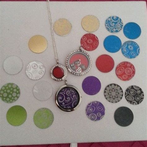 origami owl plates origami owl south hill style coin or plate for xs or mini