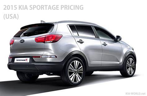 2015 Kia Price by Kia Sportage Price 2015 Model Year Lx Ex Sx Trim