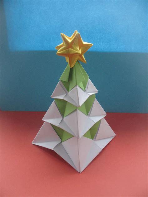 winter origami interferente winter origami tree new
