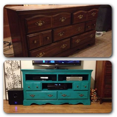 chalk paint tv stand dresser turned tv stand chalk paint tv stand ideas