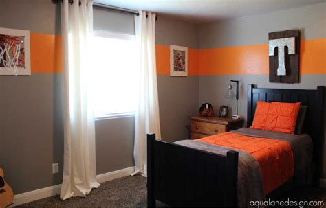 best paint color for boy bedroom paint for boys room with grey and orange colors
