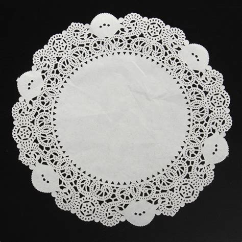 lace craft paper aliexpress buy 50pcs new 12 5 quot white lace