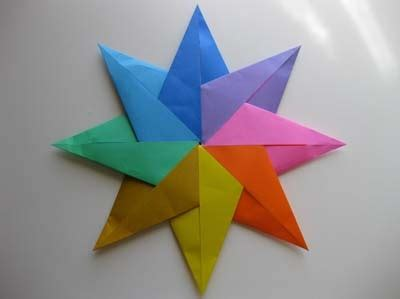 origami 8 pointed 8 point origami origami