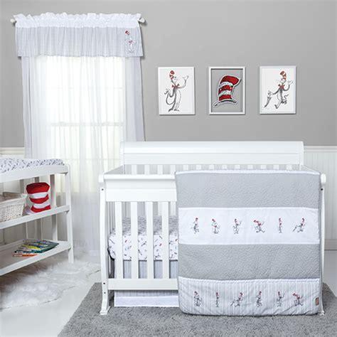 dr seuss baby bedding sets baby unisex trend lab dr seuss cat bedding set boscov s