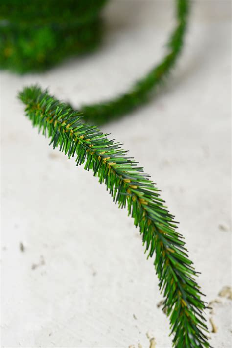 artificial pine roping 12 miniature pine garlands pine roping wired