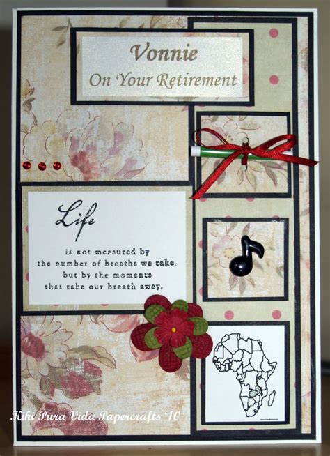 ideas for retirement cards to make retirement cards retirement card idea
