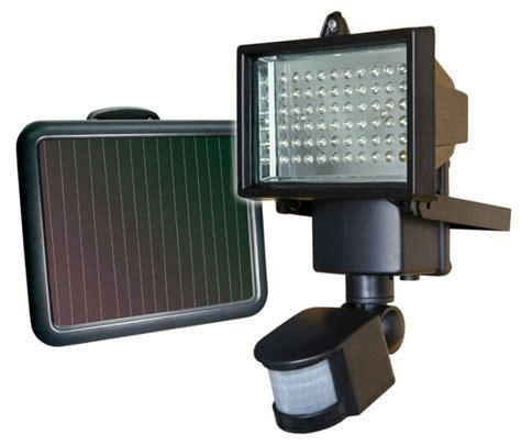 solar lights led sunforce 82156 60 led solar motion light hj news