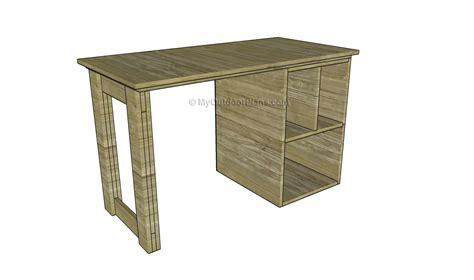 desk plans woodworking free wood desk plans