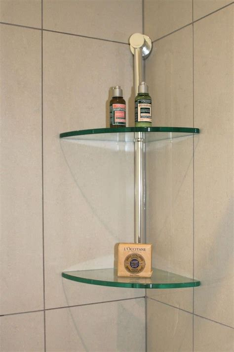glass corner shelves bathroom 60 fascinating shower shelves for better storage settings