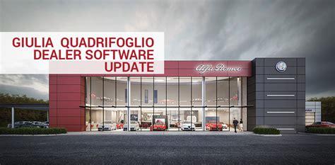 Alfa Romeo Dealer by Alfa Romeo Giulia Quadrifoglio Dealer Software Update