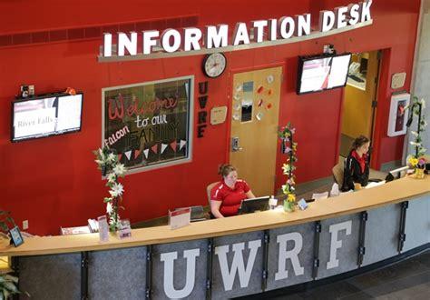 student center information desk information desk of wisconsin river falls