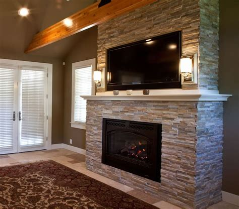 master bedroom fireplace for the home