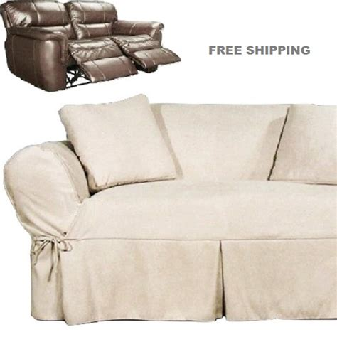 sure fit dual reclining sofa slipcover sure fit dual reclining sofa slipcover cheap recliner