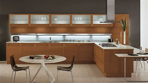 wooden kitchen cabinets designs 20 sleek and modern wooden kitchen designs home