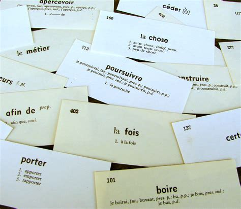 how to make vocabulary flash cards easy a for of all things