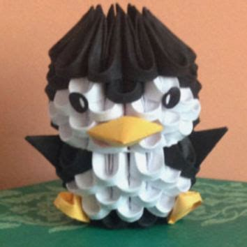 3d penguin origami best 3d origami products on wanelo