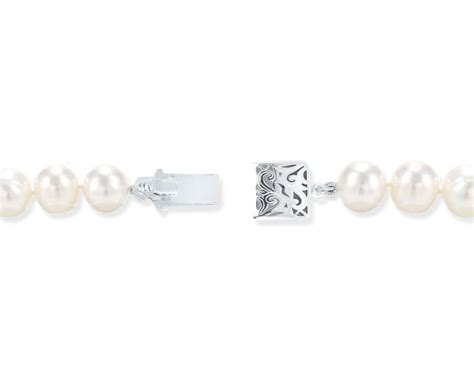box clasps for jewelry sterling silver swirl box clasp for pearl jewelry pearl