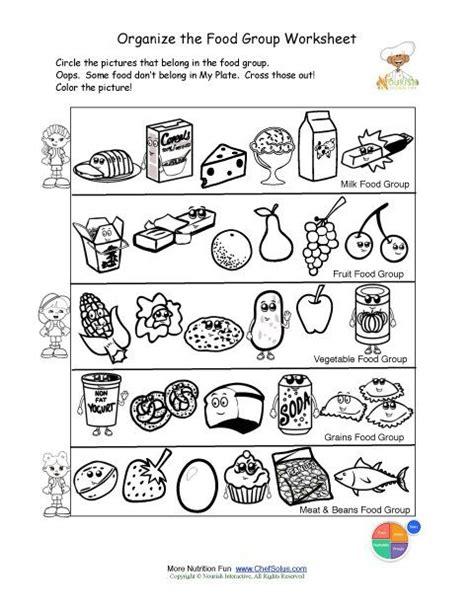 free printable for groups free food groups printable nutrition education worksheet