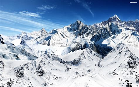 free with pictures snow mountains wallpaper
