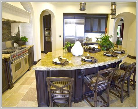 curved island kitchen designs l shaped kitchen island designs with seating home design ideas