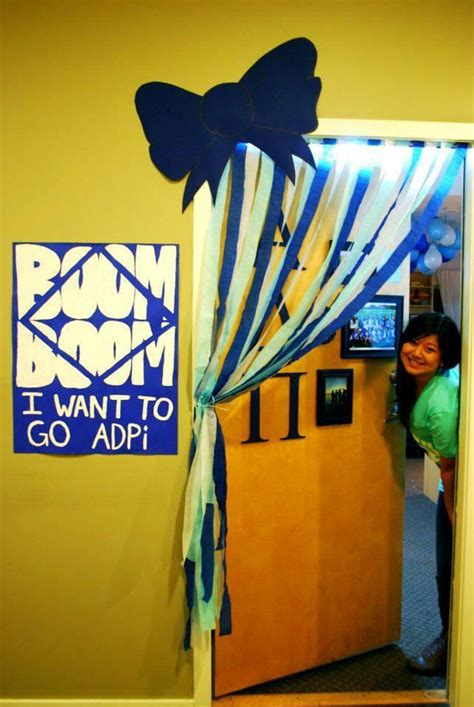 25 best ideas about sorority door decorations on