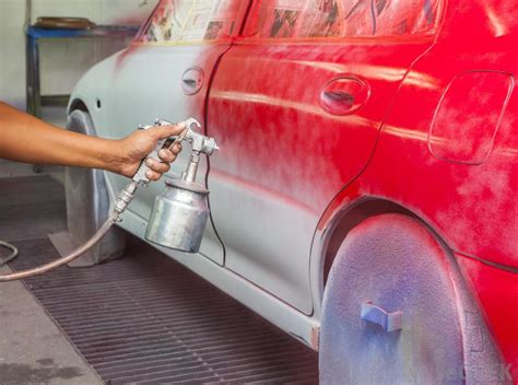 spray painting vehicle what are the different types of auto paint with pictures