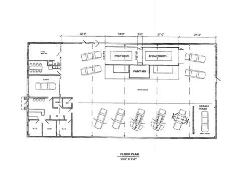 automotive shop floor plans auto shop floor plans best free home design