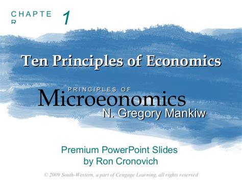 principles of macroeconomics mankiw s principles of economics principles of economics chapter 1