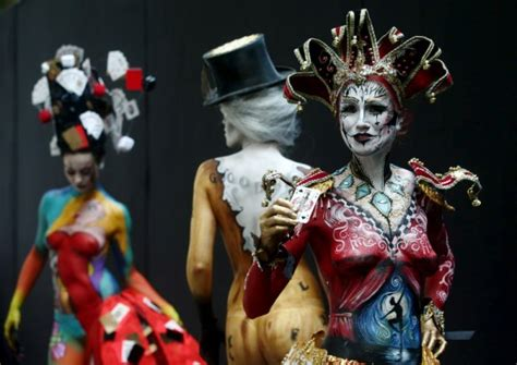 annual painting festival world bodypainting festival 2015 photos images gallery