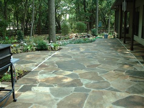 pictures of patios laying a flagstone patio tips how to build a house