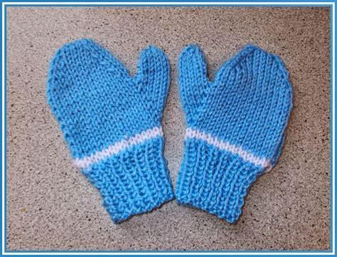 children s mitten knitting pattern easy two needle children s mittens allfreeknitting