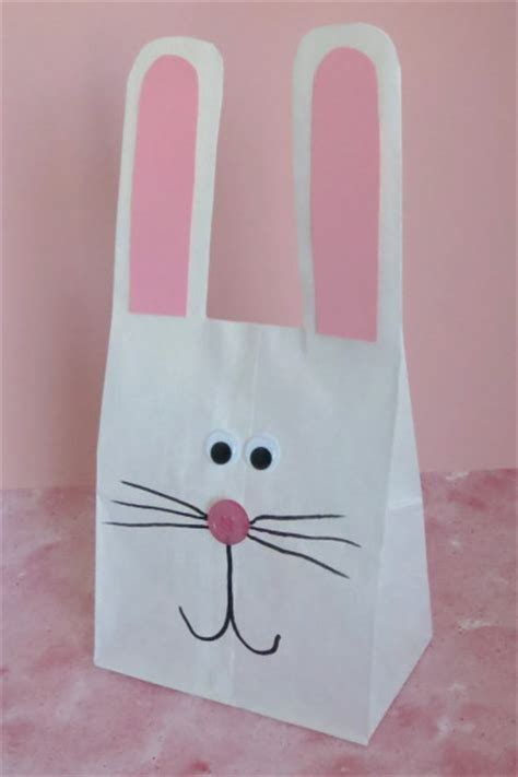 Paper Bag Bunny Family Crafts