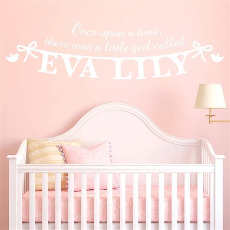 personalised name wall stickers personalised s name wall sticker by megan
