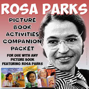 rosa parks picture book rosa parks picture book reading activities companion