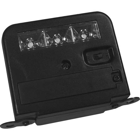 homebrite solar lights homebrite solar wunder light deck mount outdoor black