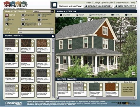 paint colors exterior house simulator colorview exterior style and color visualizer quot try out