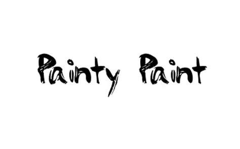 paint font 44 free cool and stylish brush fonts blueblots