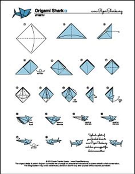 how to make a origami shark step by step paper sharks pattern a origami shark folding diagram and