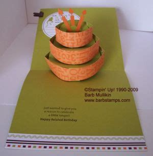 how to make amazing pop up cards my pop up cake die card barbsts barb
