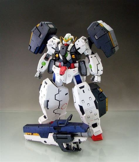paper craft gundam gn 005 gundam virtue papercraft by rarra