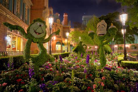 Garden Festival Epcot International Flower Garden Festival