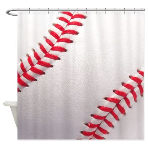 sports themed bathroom accessories baseball sports theme shower curtain by inspirationzstore