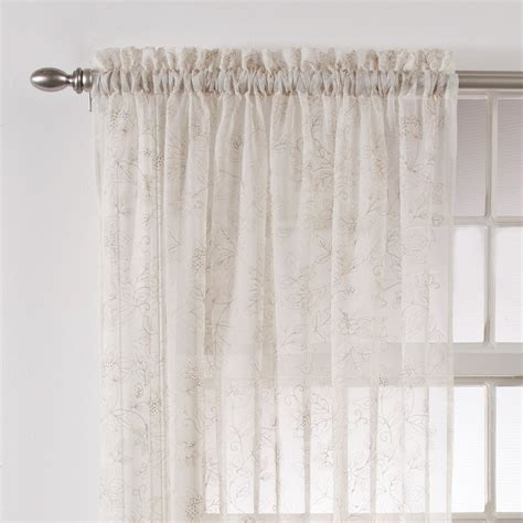 sheer curtains with lights 100 sheer curtains with lights 180 sweet home collection
