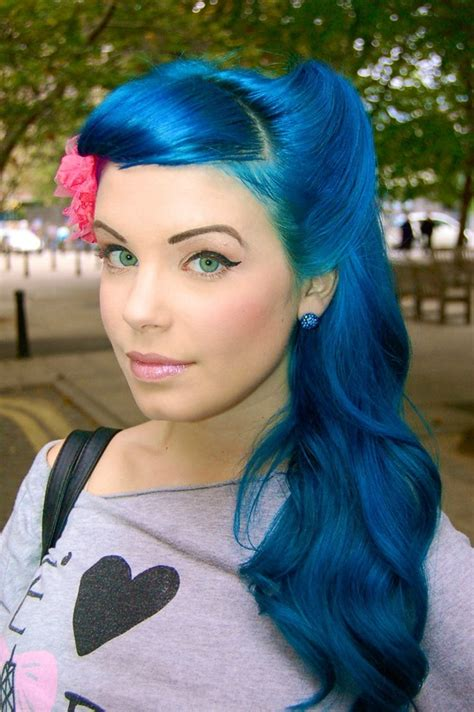 blue hair i blue hair hair colors ideas