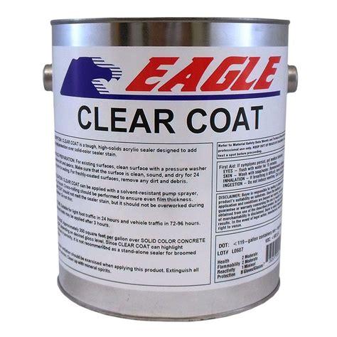 home depot paint one coat eagle 1 gal clear coat high gloss based acrylic