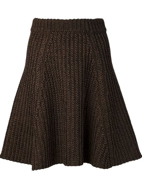 simple knit skirt pattern best 25 knit skirt ideas on knitted skirt