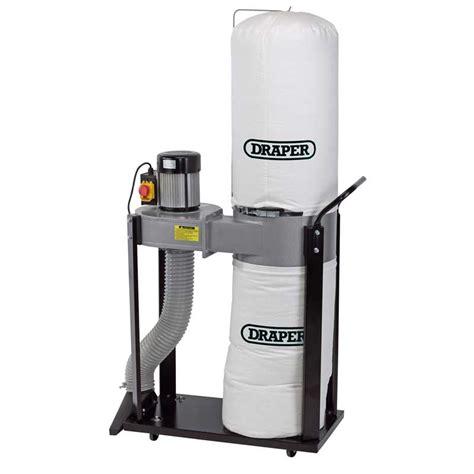 portable dust extractors woodworking draper 79359 de750a 750w 230v portable dust chip